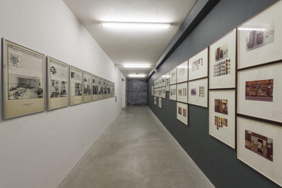 Franco Vaccari, Ugo La Pietra e Uliano Lucas, L'Inarchiviabile, 2016, foto Paolo Emilio Sfriso.