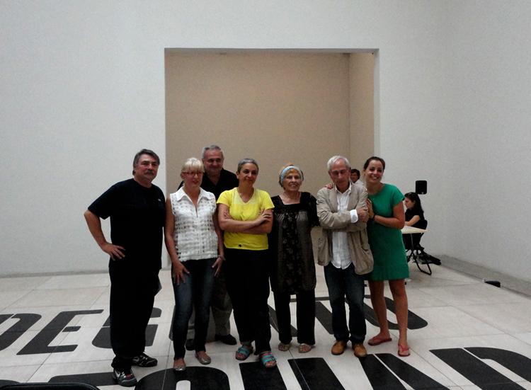 Forniture Critiche con Dora Garcia - L?inadeguato, Biennale di Venezia, 17. 10 . 2011.