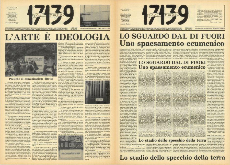 Aut.Trib 7139, n. 3 (1979) - Pagine di Fernando De Filippi e Alberto Boatto.