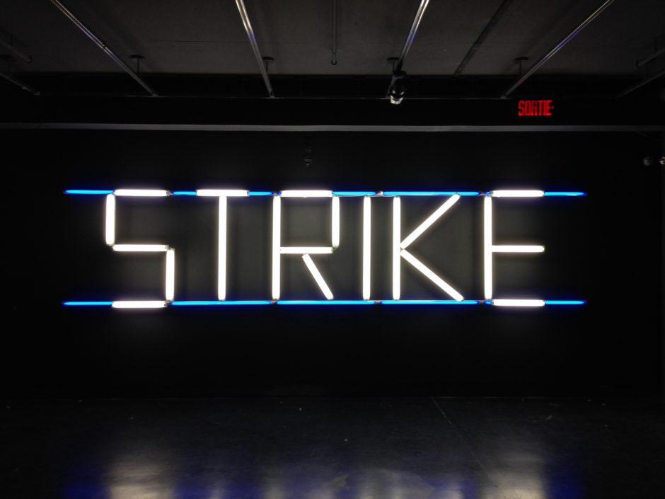 Claire Fontaine STRIKE (K. font V.III) 2005 2007 (2000x1500)
