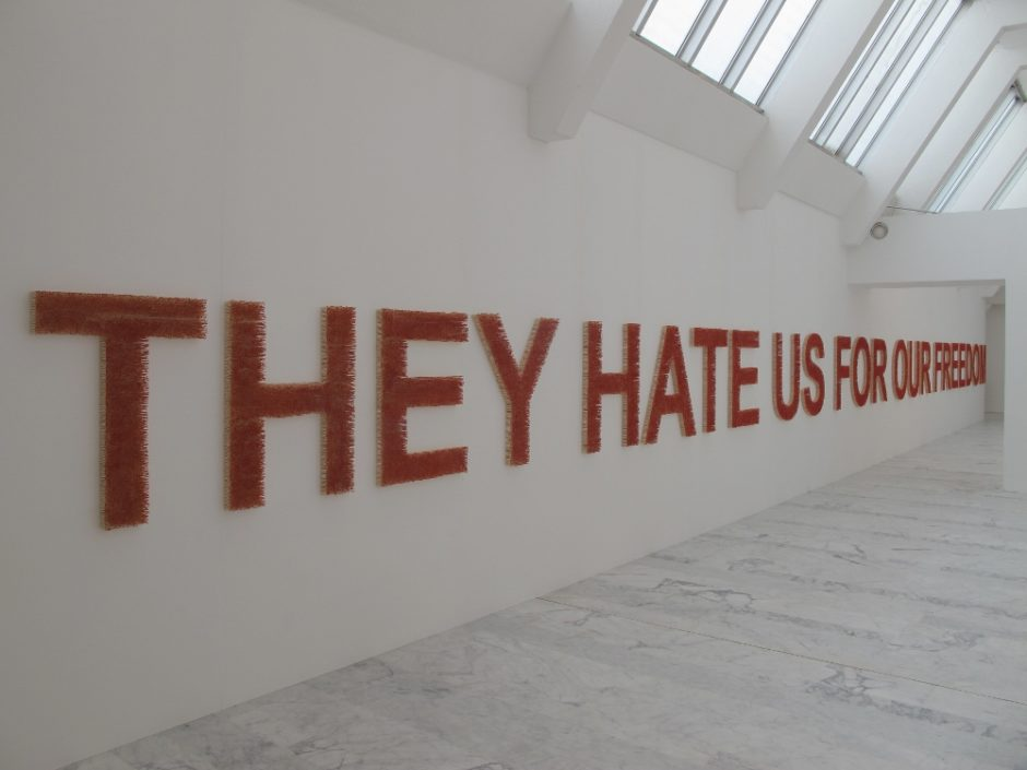 Claire Fontaine, They hate us for our freedom 2008. Courtesy of the artist (5) (1000x750)