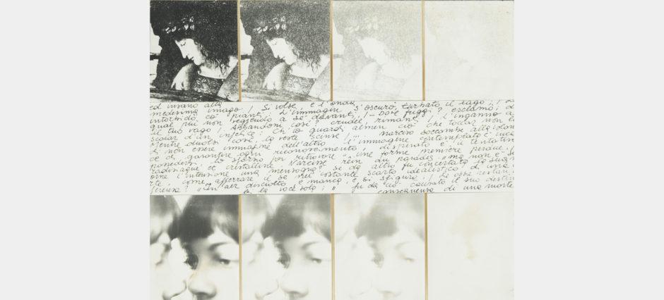 Libera Mazzoleni, Narciso contro Narciso, 1979, cm 37,5x42,5