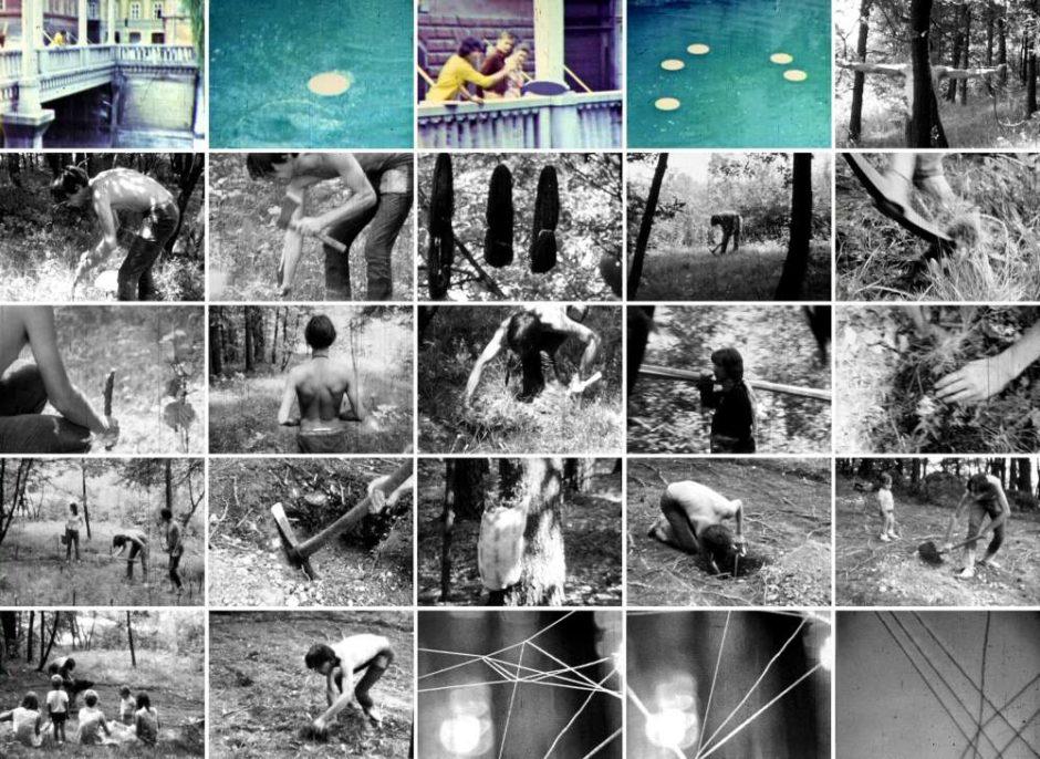 OHO group (Naško Križnar), Summer Projects, 1969, 8 mm film, silent, colour film, 10'06'', Marinko Sudac Collection