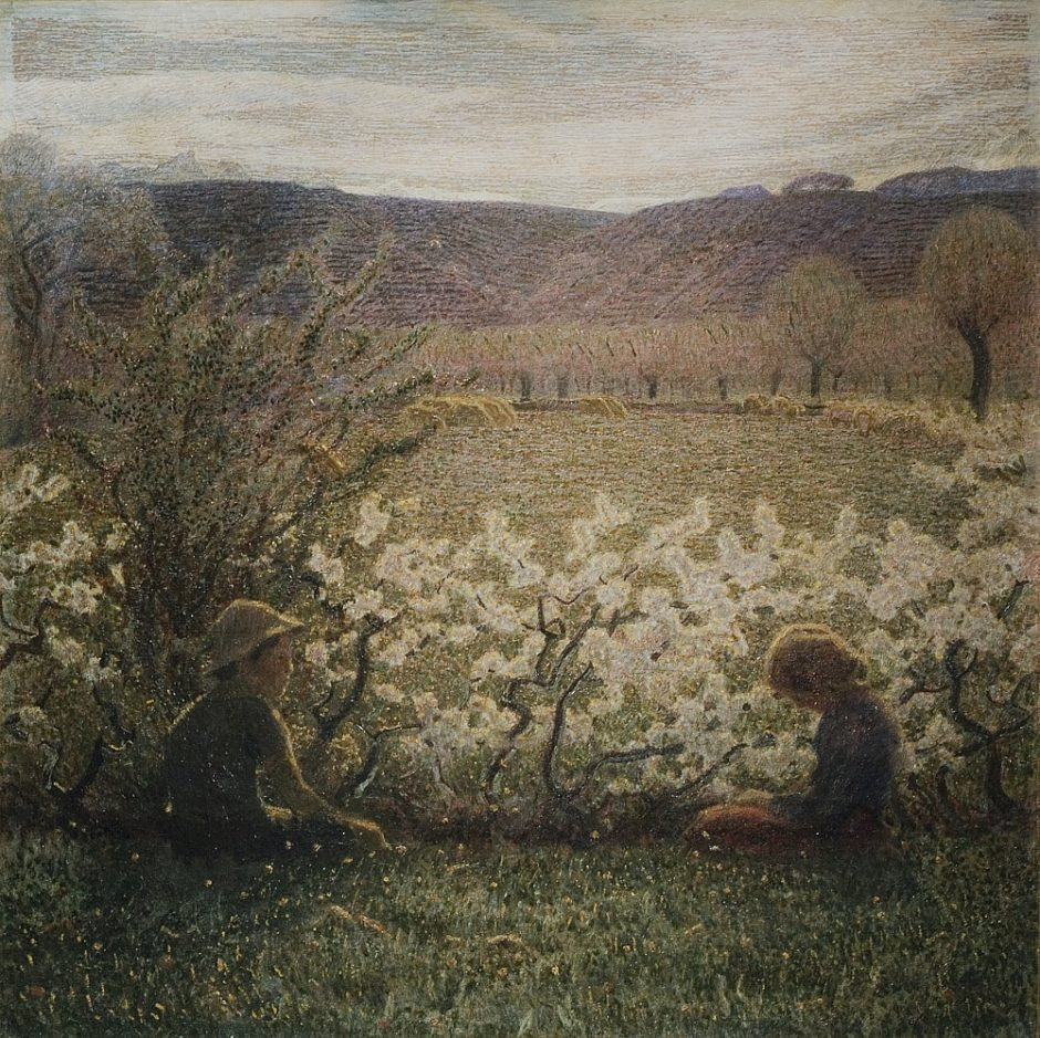 Pellizza Da Volpedo Giuseppe- Prato fiorito (1000x999)