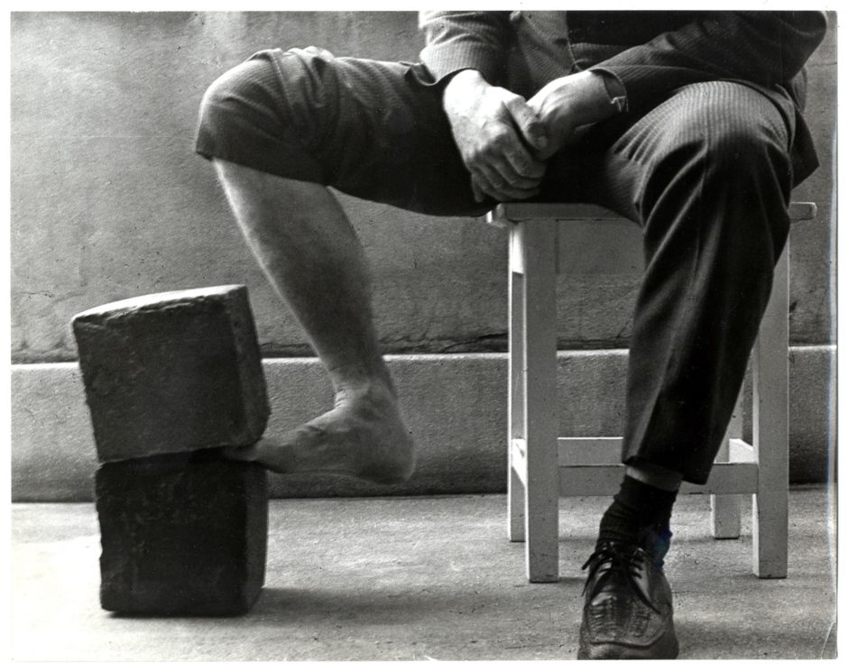 Gábor Attalai, Discipline Art Action II. for the Freedom of Arts, 1971, bw photograph, 240 x 304 mm, Marinko Sudac Collection