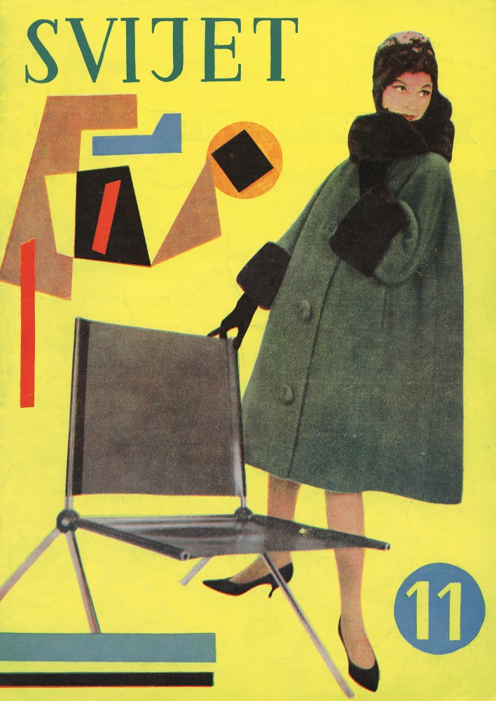 Aleksandar Srnec_ Cover Design for_Svijet_Fashion Magazine_No. 11_1960_ offset_ paper_340 x 240 mm_ Marinko Sudac Collection (708x1000)