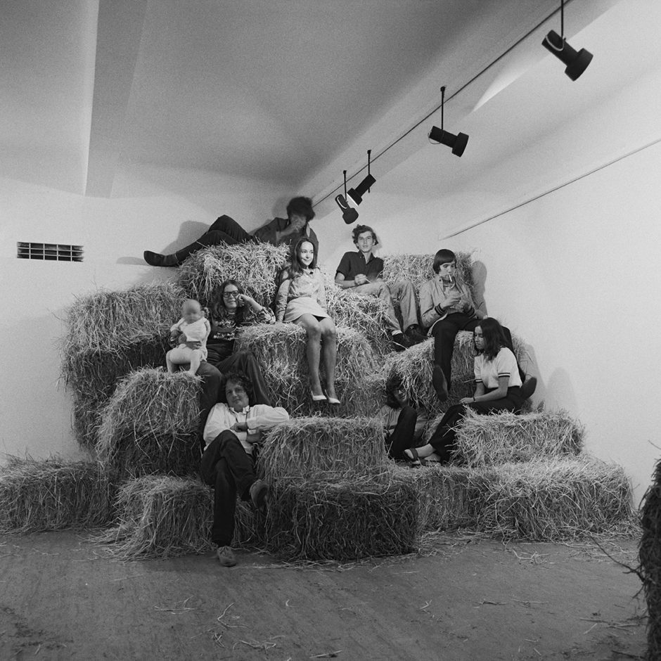 OHO Group, Haystack, Corn, Bricks, 1969. (2)