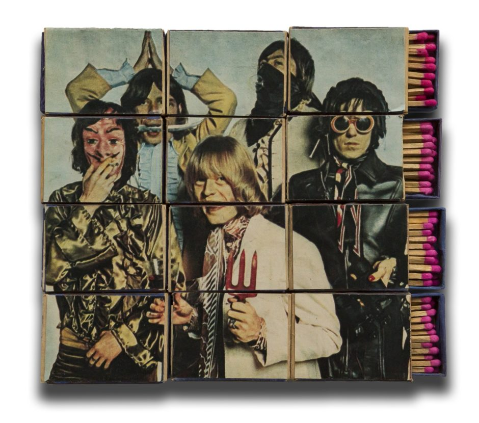 OHO Group (Marko Pogačnik), Rolling Stones Matchboxes, 1967, Marinko Sudac Collection