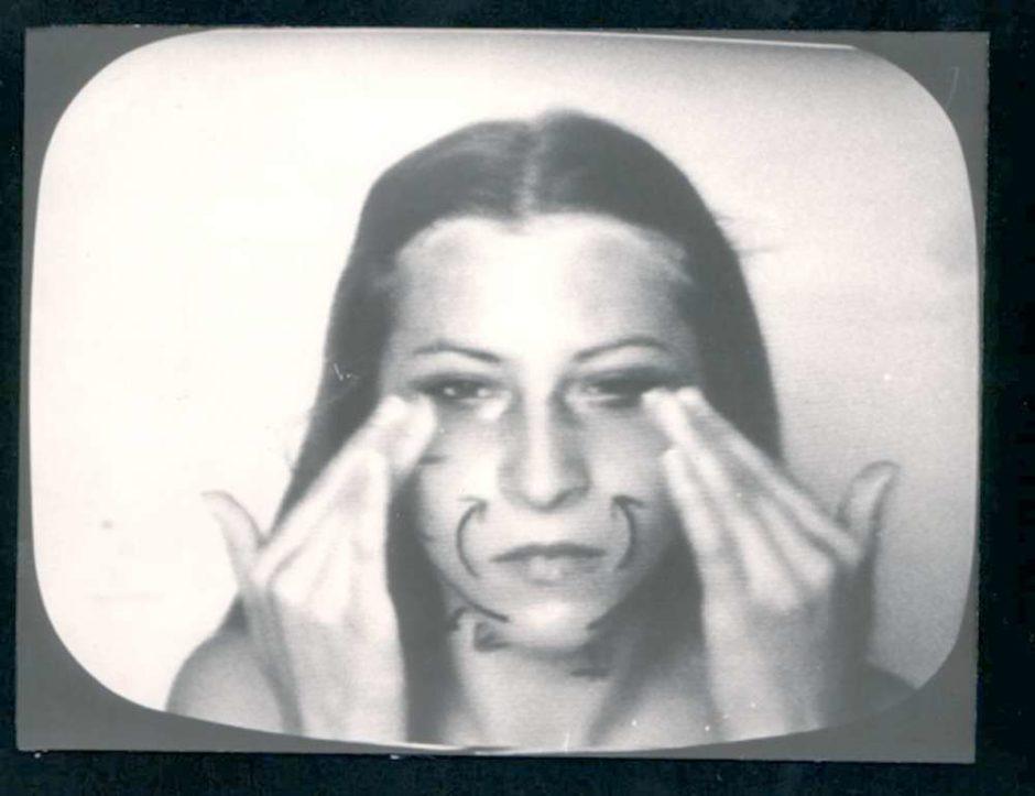 Sanja Ivekovic, Instructions, 1976, sound, bw film, 5'59'', Marinko Sudac Collection