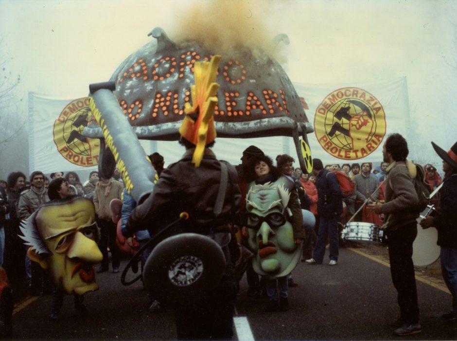 22_MAXXI_GILARDI_Marcia antinuclare Centrale di Caorso_Caorso_1987 (2)