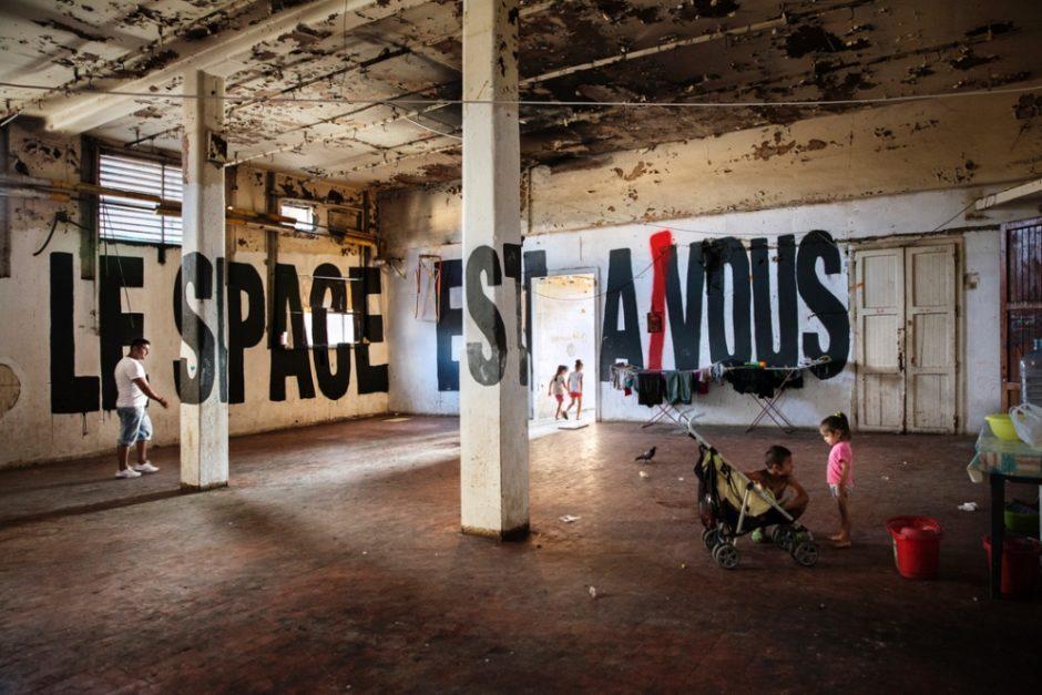 Gregorio Pampinella, Le space est a nous (2013)