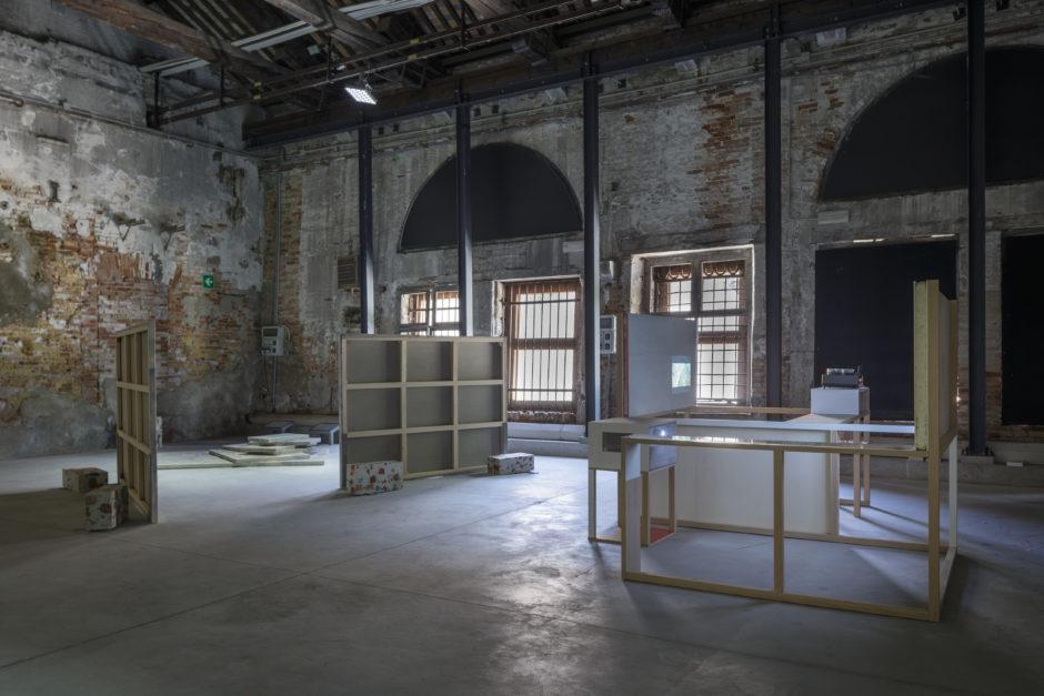 Marko Tadić, Events Meant to be Forgotten Eventi da dimenticare, Padiglione Croato, Biennale di Venezia, 2017, Horizon of expectations (Orizzonte di attesa), con Tina Gverović
