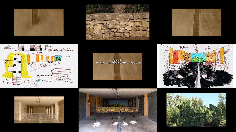 Tagariello_Drywall in the underground garages - sketches & still (2017)