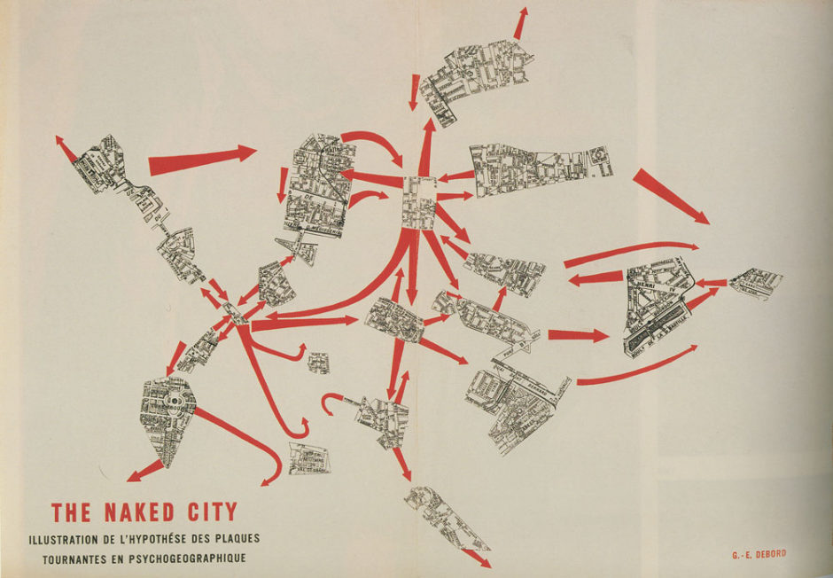 Guy Debord The naked city 2
