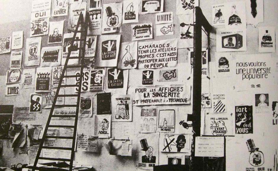 Atelier Populaire Maggio 68, Parigi