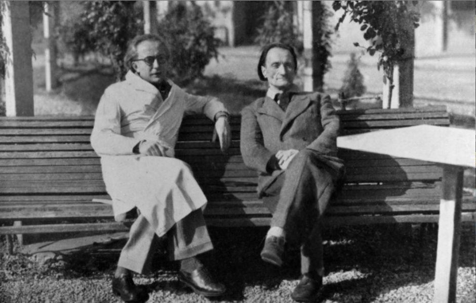 Artaud 4 Antonin Artaud e Gaston Ferdière a Rodez