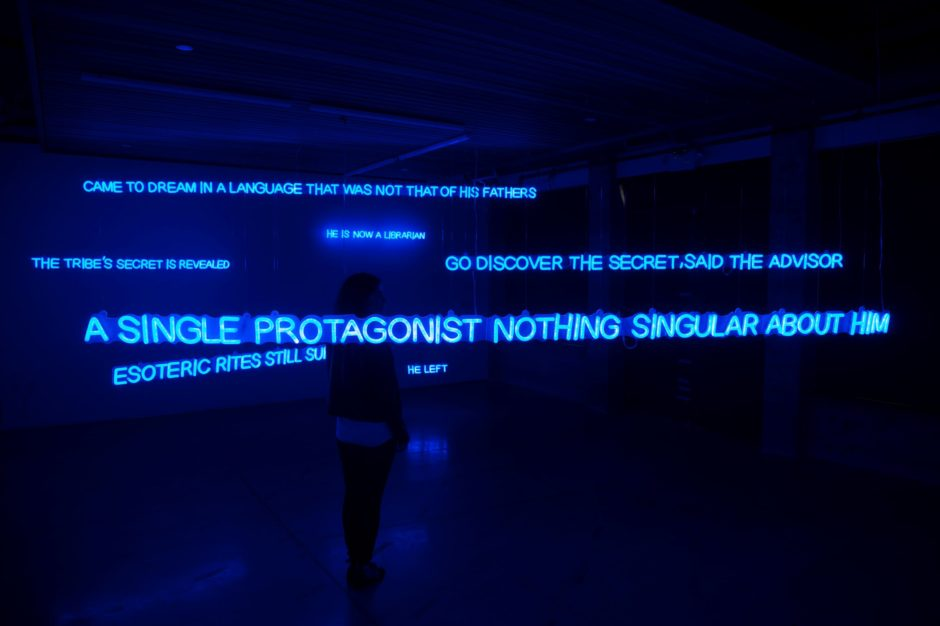 fiamma montezemolo,Neon Afterwords_1, 2016, courtesy Kadist