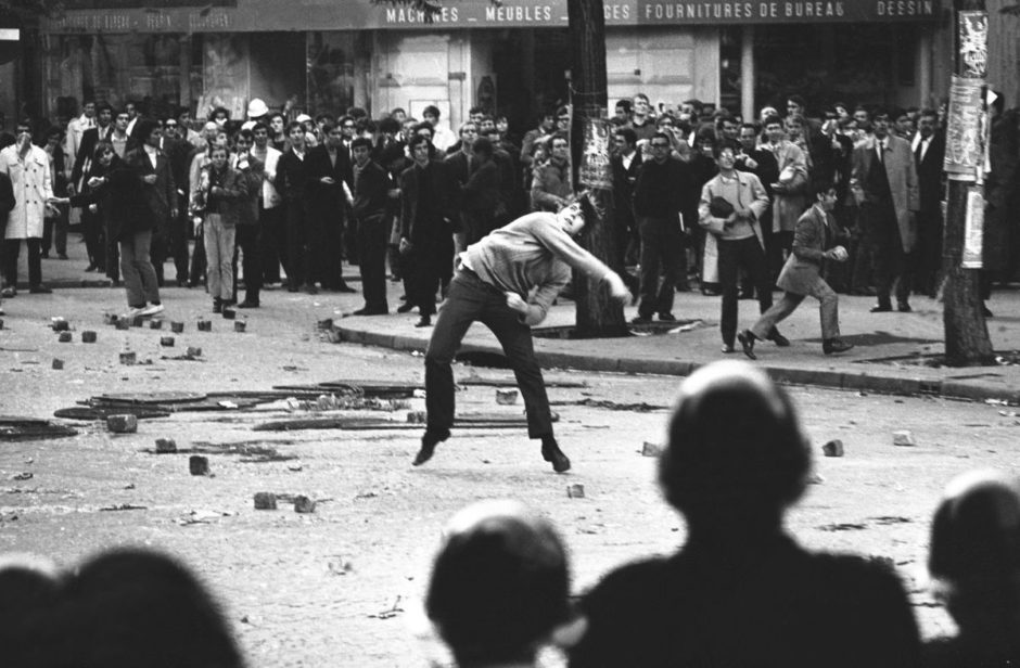 Student Uprising In Paris, May 1968
