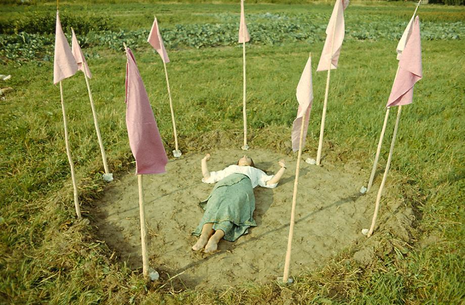 Maria Pinińska-Bereś, Modlitwa o deszcz - preghiera per la pioggia , 1977.