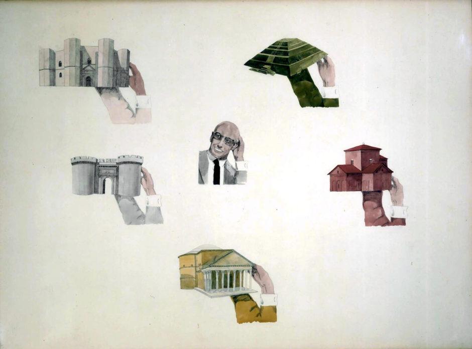 Francesco-Clemente-Ritratto-di-Foucault-1978-Collezione-Gian-Enzo-Sperone-New-York-Foto-Paol