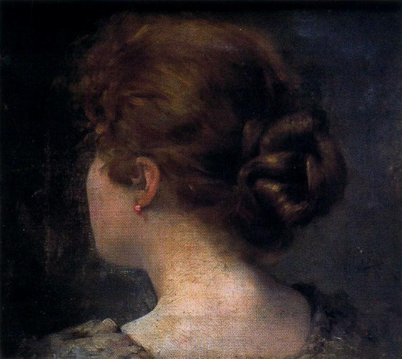 Ignacio-D-az-Olano-Head-of-woman-seen-from-behind